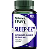 Nature's Own Sleep Ezy - Promotes Restful Sleep - Helps You Stay Asleep - Calms the Nerves, 100 Capsules