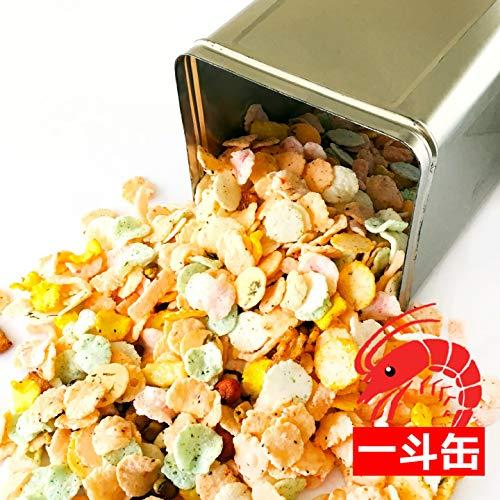一斗缶 海鮮 せんべい 詰め合わせ 2kg 17種類 大容量 海老 えびせんべい あられ のり ミックス 煎餅