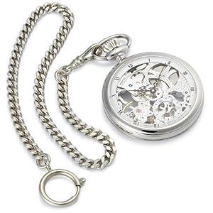[エポス]EPOS 腕時計 ポケット PP スケルトン スモセコ WH RW 2003 懐中時計 手巻 [正規輸入品]