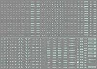 ハイキューパーツ NCデカール05ミント・ワンカラー 1/100