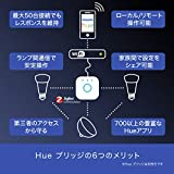 【Amazon.co.jp 限定】Philips Hue ホワイトシングルランプE17(電球色) 4個セット |2700K E17スマートLEDライト4個|【Amazon Echo、Google Home、Apple HomeKit、LINE対応】 919020082301 画像