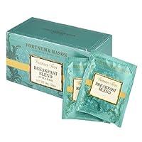 フォートナム&メイソン Breakfast Blend Tea Bags ティーバッグ 25個入り 個包装 ブレックファスト ブレンド [並行輸入品]