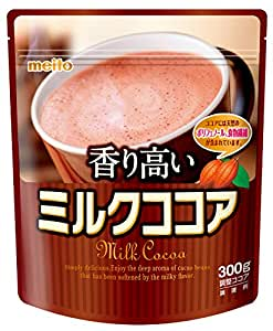 名糖 香り高いミルクココア 300g×3個