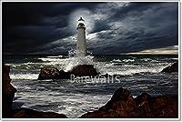 Barewalls灯台用紙印刷ウォールアート–bwc12473326 36in. x 54in.