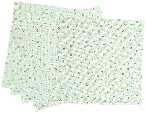 5枚組 ハーフサイズ ドビー織 星柄 仕立て布おむつ オレンジ TK712 日本製