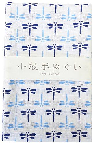 宮本 小紋手ぬぐい 青とんぼ 33×90cm 33042