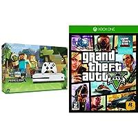 Xbox One S 500GB Minecraft 同梱版 (ZQ9-00068) + グランド・セフト・オートV