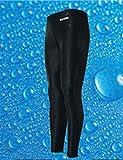 9thCode (ナインスコード) 男性 競泳用ロング水着 ナイロン 無地シンプル フィットネス BL/L L