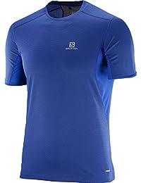(サロモン)SALOMON ランニングシャツ TRAIL RUNNER 半袖 Tシャツ M