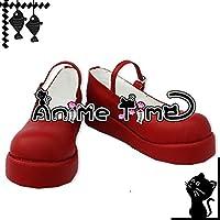 ●●サイズ選択可●●女性23.5CM MJR1228 コスプレ靴 ブーツ うみねこのなく頃に 右代宮真里亞