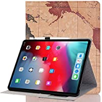 iPad ケース INorton 高級レザーケース 全面保護 スタンド機能 薄型軽量 耐久性に優れ 持ち運び便利 横開き型 地図仕様 手帳型 スリムフィット保護ケース