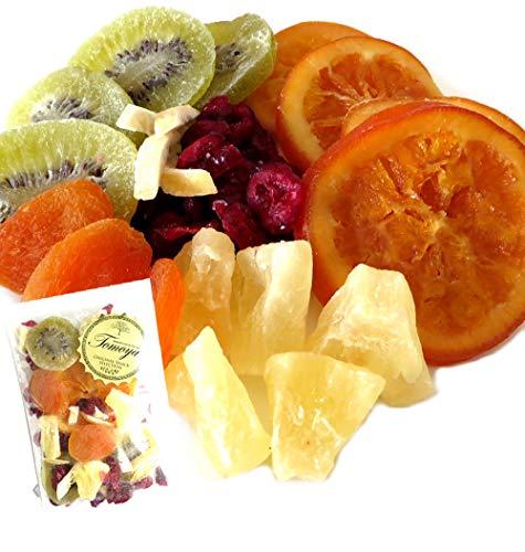 大地の生菓 ドライフルーツ 100g 6種類 ミックス 母の日 ギフト 贈り物 プレゼント フルーツティー キウイ オレンジ パイナップル レモン みかん りんご
