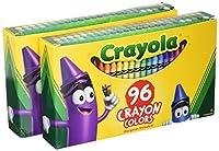 Crayola :クラシックカラーパックCrayons , Wax、標準、96カラーperボックス–: -として販売2パックof–1–/–Total of 2Each
