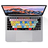Adobe Photoshop Keyboard Cover for MacBook Pro Touch Bar - Protection and Shortcut Skin. 13 | 15 [並行輸入品]