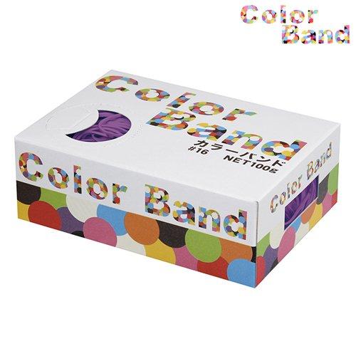 [해외]공화국 오 밴드 고무줄 컬러 밴드 100g 바이올렛 GGK-100-VT/Kyowa o band rubber band color band 100 g Violet GGK-100-VT