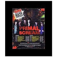 PRIMAL SCREAM - UK Tour 2008 Mini Poster - 30x24.2cm