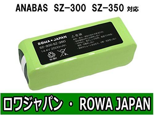 ANABAS アナバス ロボクリーナー SZ-300 SZ-350 互換 バッテリー ニッケル水素 充電池 【ロワジャパン】
