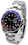 ノーロゴ 腕時計 自動巻 サブマリーナタイプ NL-554S4AS [並行輸入品]