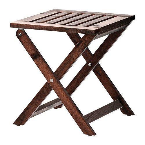 RoomClip商品情報 - IKEA(イケア) APPLARO スツール 折りたたみ式 ブラウン