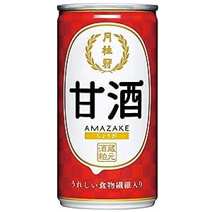 月桂冠 甘酒(しょうが入り) 190g×30本
