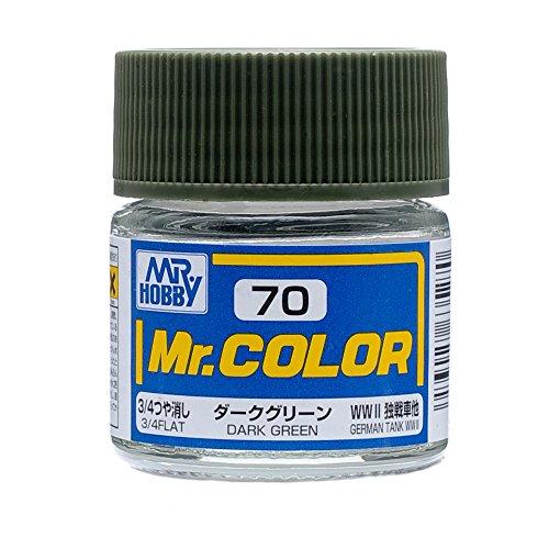 GSIクレオス Mr.カラー C70 ダークグリーン つや消し