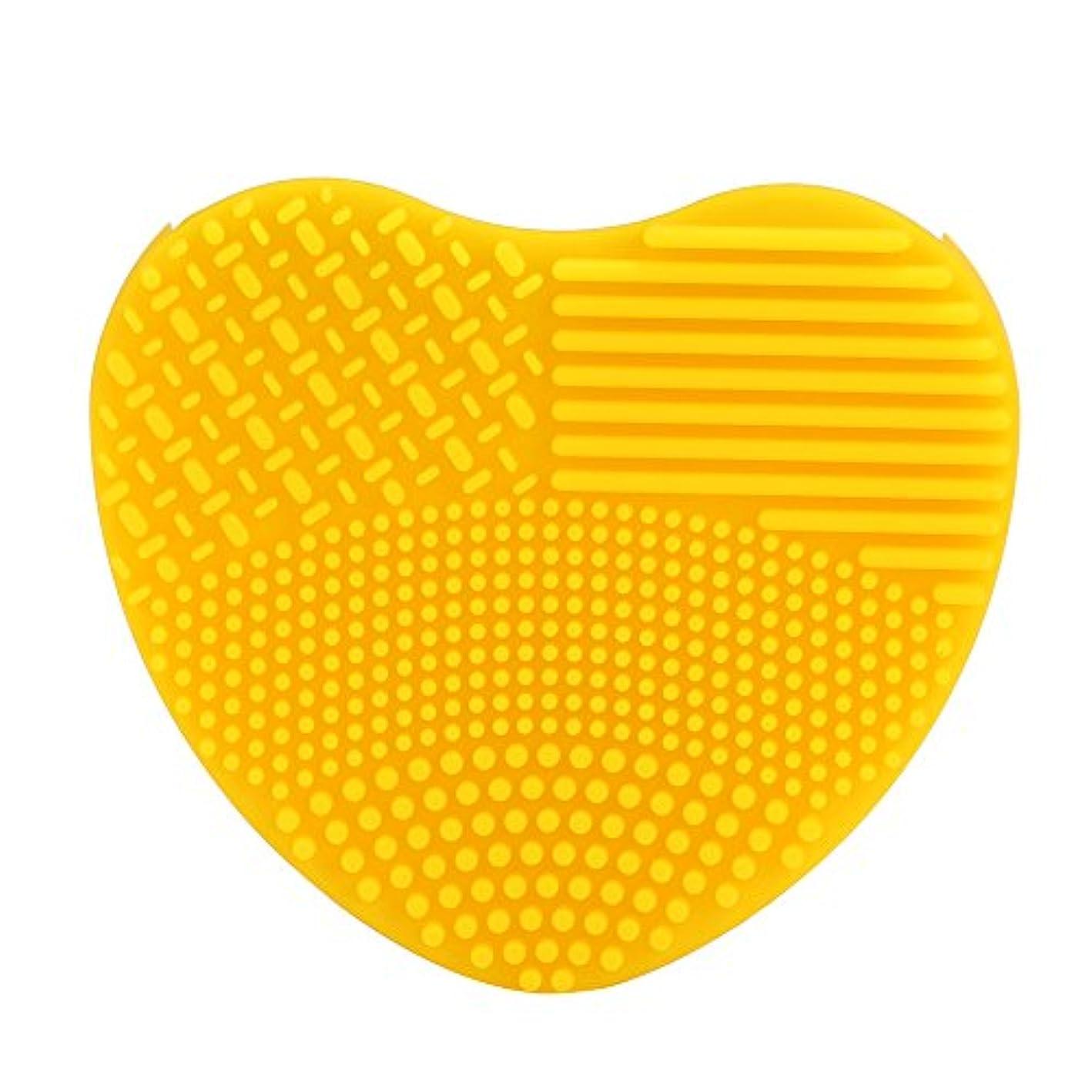 カウボーイ運動する締め切りシリコーン YOKINO 洗濯板 ポータブル メイクブラシクリーナー 旅行 や 外泊 の 必需品 化粧ブラシクリーナー 洗浄ブラシ 清掃ブラシ (G)