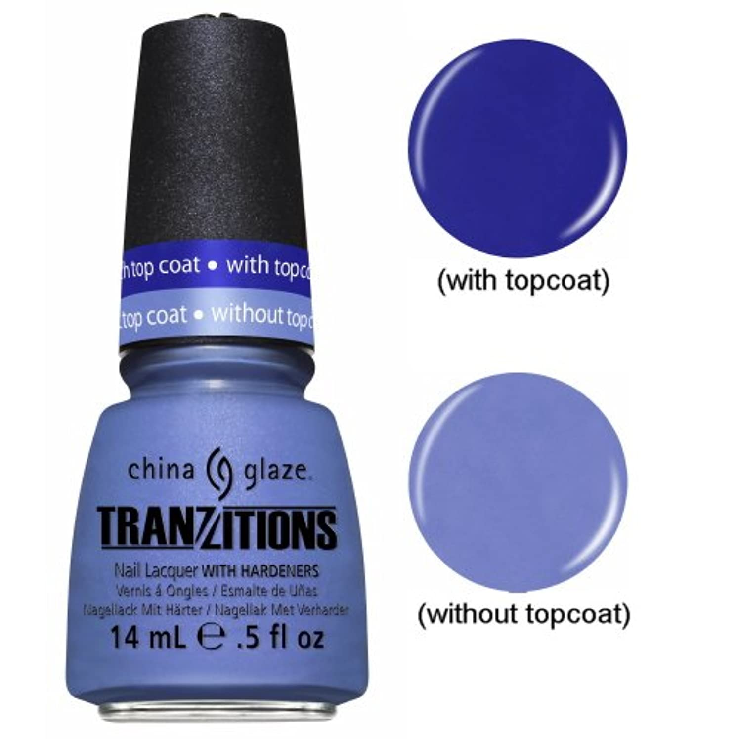 鎮痛剤寸法期待(6 Pack) CHINA GLAZE Nail Lacquer - Tranzitions - Modify Me (並行輸入品)