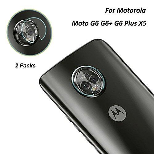 P20 Pro HW-01K カメラフィルム, For Huawei P20 Pro フィルム ガラスフィルム 全面保護フィルム 自動吸着 9H硬度の液晶保護 耐指紋 日本旭硝子素材採用 (2 Pack) (moto x5 カメラフィルム)
