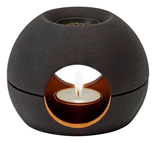 メタフィス 茶香炉 サエン ブラック 25080-BK