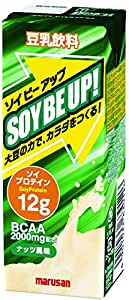 マルサン 豆乳飲料ソイビーアップ 200ml×24本
