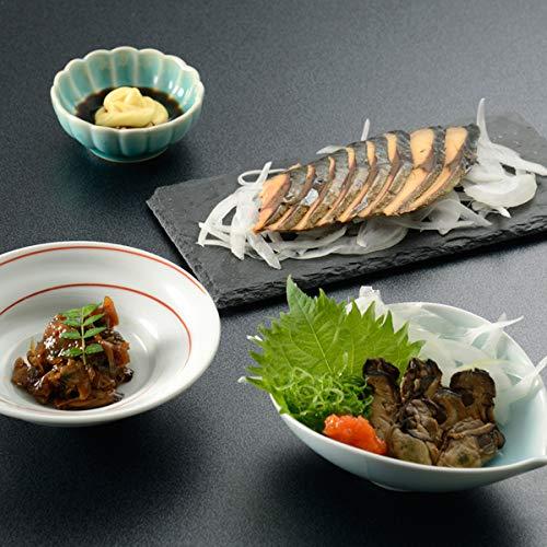 下鴨茶寮[のまえ]JIMONO「芳醇あさりしぐれ・牡蠣の一夜干し・屋久島の鯖燻製」