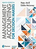 Cover of Management Accounting for Decision Makers 9th edition