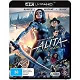 ALITA: BATTLE ANGEL 4K UHD BLU-RAY + 3D