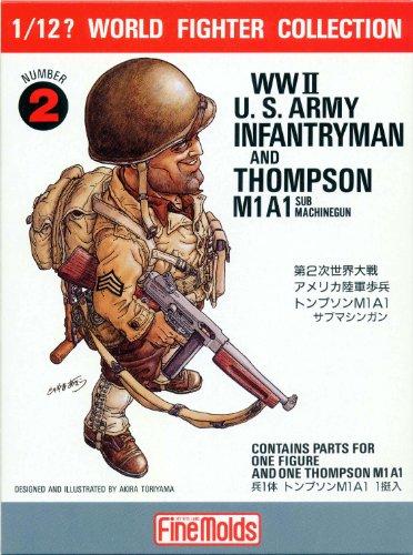 1/12 ワールドファイターシリーズ FT2 WWIIアメリカ陸軍歩兵
