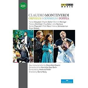 クラウディオ・モンテヴェルディ:「オルフェウス」「オデュッセウス」「ポッペーア」[DVD, 5Discs]