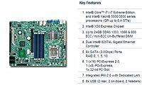 Super Micro x8sti-f-b 10pk x58lga1366max-24gb ddr3ATX pcie16pcie8PCI vid 2Gbe IPMI x8stifb