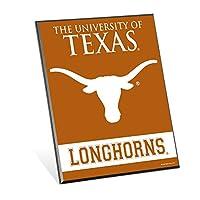 NCAAテキサスLonghornsイーゼルサイン、8x 10インチ、マルチ
