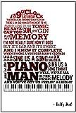 ピアノ・マン???Billy Joelポスター