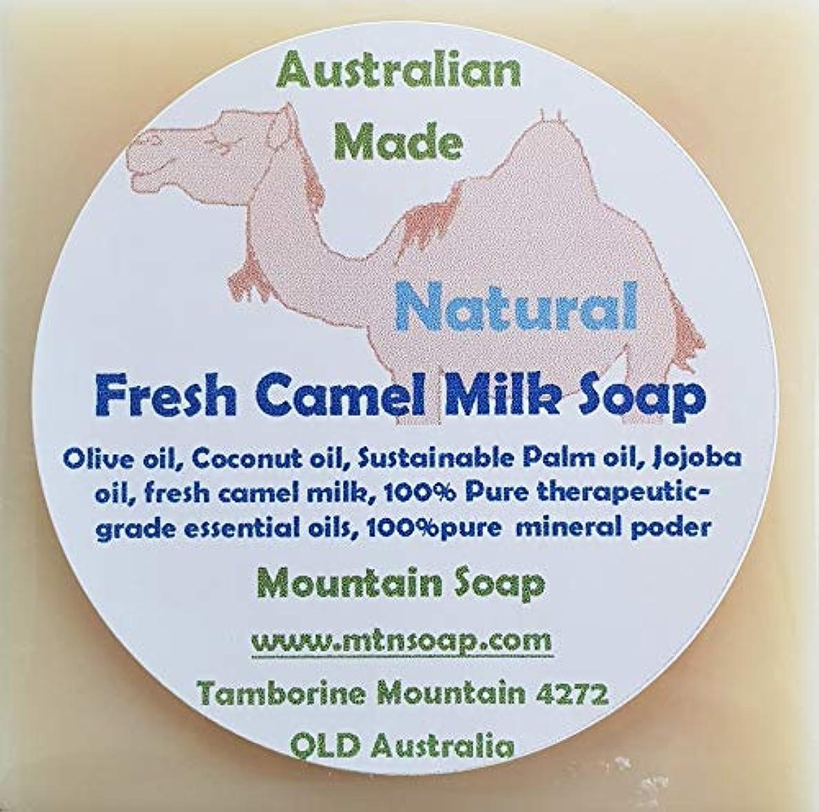 偽パス慢な【Mountain Soap】マウンテンソープ 農場直送絞りたて生乳使用 キャメルミルク石鹸 CAMEL MILK キャメルミルクソープ ラクダミルク石鹸 (ナチュラル(無香料))