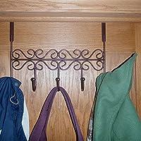 アーゴルドをドアのコート吊りフックホルダー壁ラックTieバスルームタオルハンガーsIYK