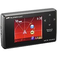 ユピテル レーダー探知機 GPS搭載誤警報カット 一体型 SCX-R203