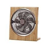 ピエリア ボックス扇風機 ボックスファン 折畳み機能 19cm  ナチュラルウッド FBR-191D NWD