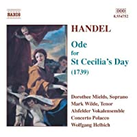 Handel: Ode for St Cecilia's Day (2004-04-20)