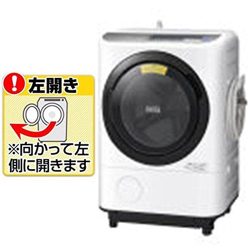 日立 12.0kg ドラム式洗濯乾燥機【左開き】シルバーHIT...