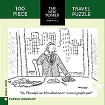 ニューヨークパズル会社–New Yorker How About木曜日Mini–100ピースジグソーパズル