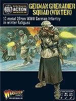 [ボルト アクション]Bolt Action German Grenadiers In Winter Clothing, 28mm Wargaming Miniatures WGB-WM-07 [並行輸入品]