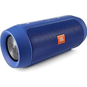JBL CHARGE2+ Bluetoothスピーカー IPX5防水機能 ポータブル/ワイヤレス対応 ブルー CHARGE2PLUSBLUEJN 【国内正規品】