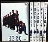 HERO 全6巻セット [レンタル落ち] [DVD] 画像