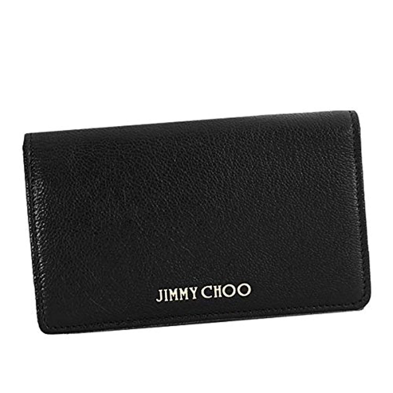 ジミーチュー 財布 二つ折り財布 JIMMY CHOO MARLIEBLACKGRZ MARLIE BLACK GRZ 並行輸入品
