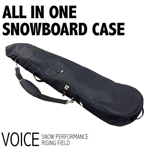 VOICE (ヴォイス) VO402スノーボードケース スノーボードケース (BLK/BLK) ~163cm BLK/BLK